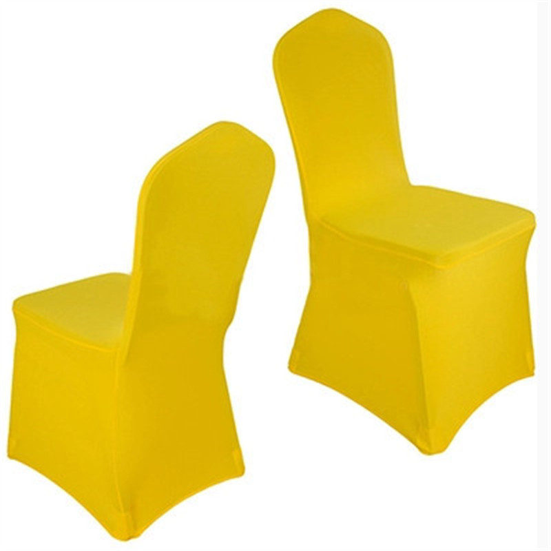 yellow chair covers outdoor rocking set universal spandex china for weddings decoration party banquet dining cr001730531