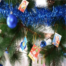 цена на Christmas Tree Decoration Christmas Tree Decoration Christmas Tree Decoration Card Folding Card Festival Decoration String Wishi