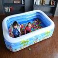 3 Большой Размер Надувной Плавательный Бассейн Детская Игровая Площадка На Открытом Воздухе Игрушки Ванна Домашнего Использования piscina bebe zwembad