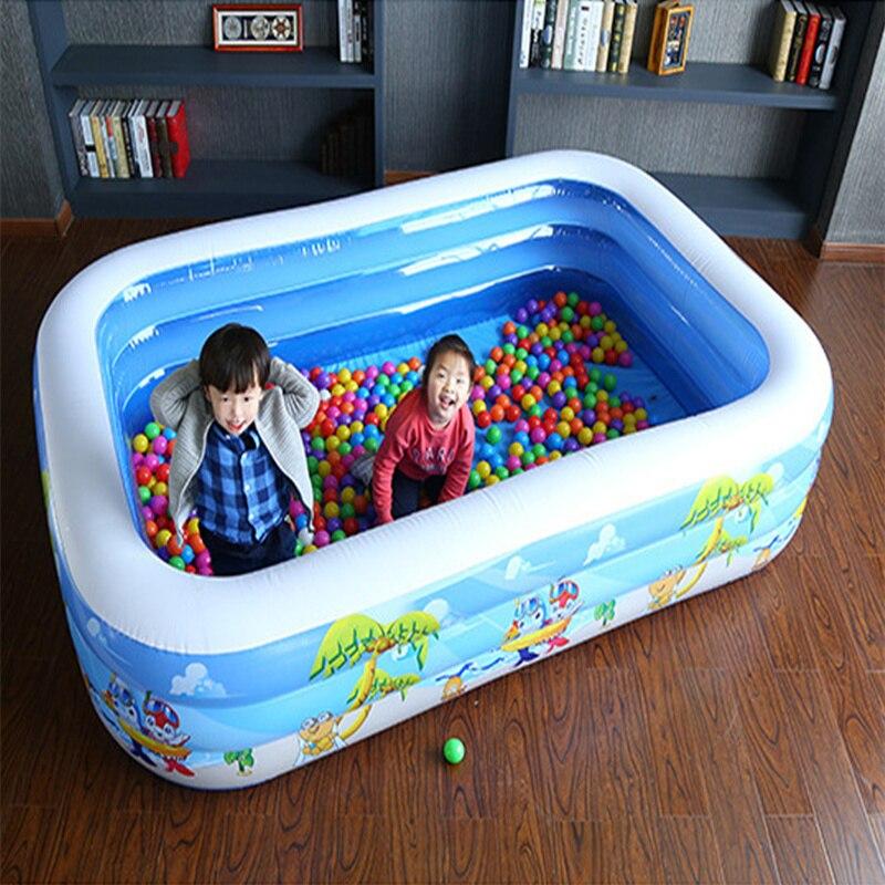 Disponible piscine d'eau gonflable enfants aire de jeux extérieure jouet baignoire usage domestique piscina bebe zwembad