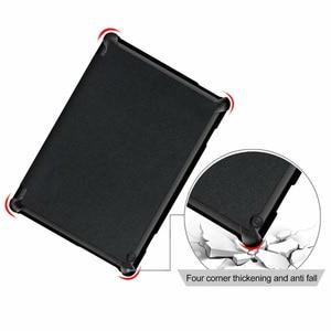 Image 2 - 30 ชิ้น/ล็อต Slim Folio PU สำหรับฝาครอบ Lenovo TAB M10 X605 TB X605F Luxury Case Protector ผิว