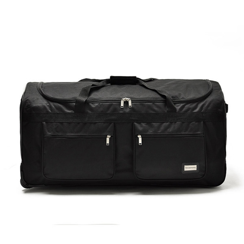 Roulettes Grande 32inch Oxford Black léger Boîte Jouet Capacité 40 À Bagages Bagage Étudiant Mode Valise De Ultra Black Roues 40inch Enregistré Chariot 32 Pouces Nouveau Oq15xwz