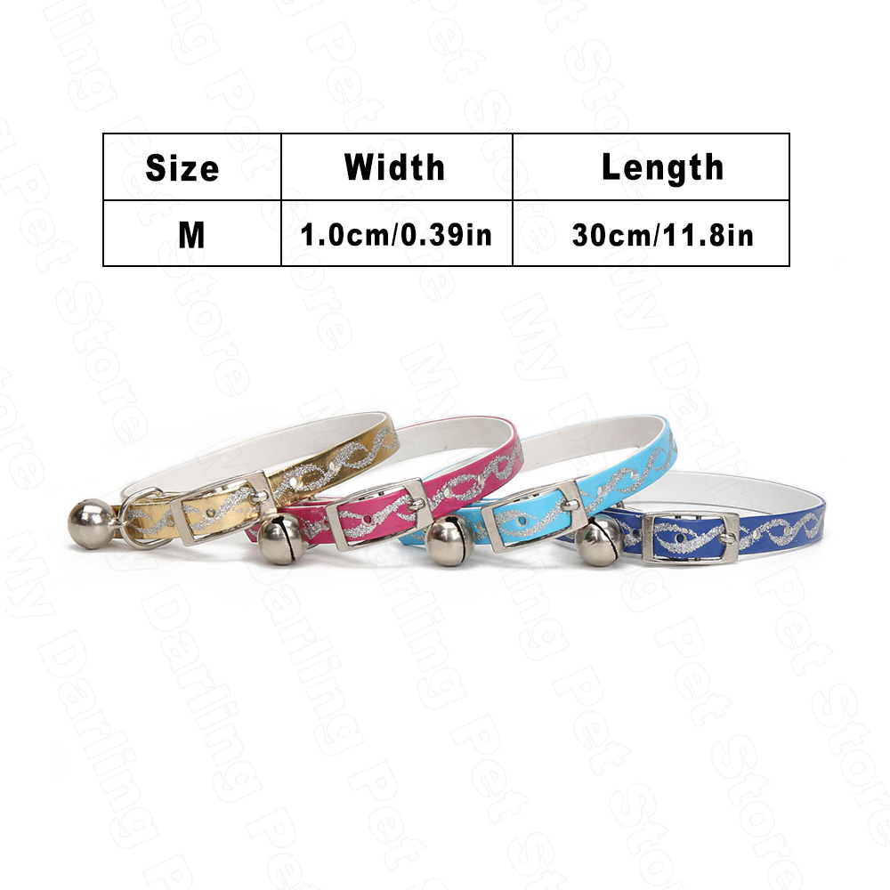 Cat-Collar-with-Bells-for-Small-Dogs-Pet-Necklace-Collar-4-Colors-Kitten-Puppy-Collar-Bell (4)