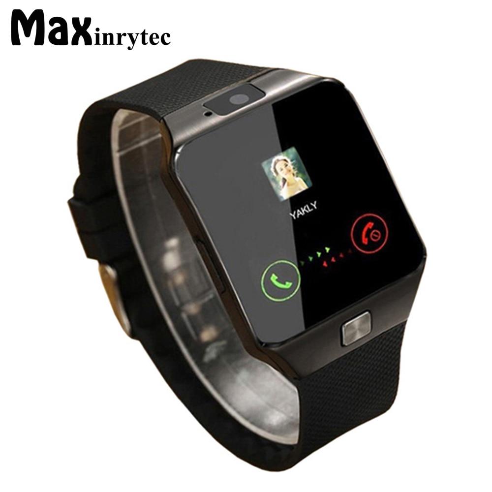 Bluetooth Montre Smart Watch Dispositifs Portables DZ09 Électronique Poignet Montre Téléphone Soutien SIM TF Carte Pour Android smartphone Smartwatch