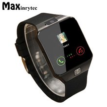 Maxinrytec Smart Watch Wearable Devices DZ09 Electronics Wrist Phone Watch Support SIM TF Card For Android smartphone Smartwatch