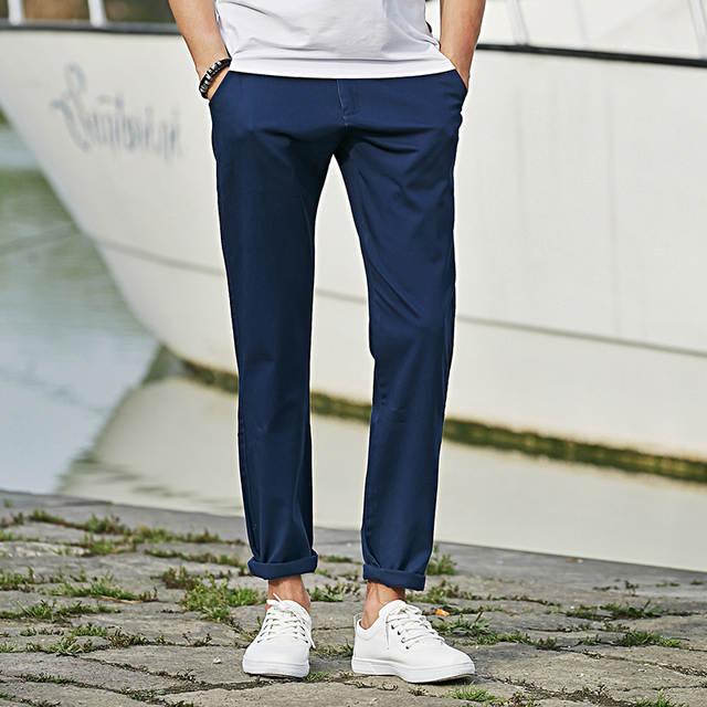 563f13c6115 Pioneer Camp Casual Pants Men Cotton Pants For Men 2018 New Fashion Men  Pants Brand Slim
