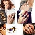 Comiya acessórios da cor do ouro das mulheres jóias Graciosa OL senhora liga de zinco rodada pedra anéis de dedo bagues bijoux en argent anel