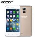 Xgody g200 4.5 pulgadas android 3g smartphone desbloqueado mtk6572 dual core 512 MB RAM 8 GB ROM 5MP Doble Tarjeta SIM de Teléfono Celular Móvil teléfono