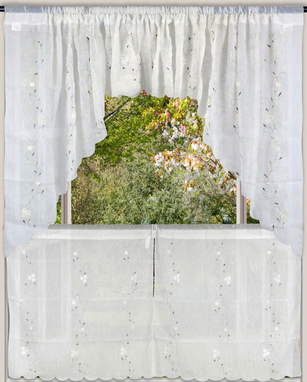 Cortinas Cortina Rideaux The Sheer Tulle Swag Curtain Valance And