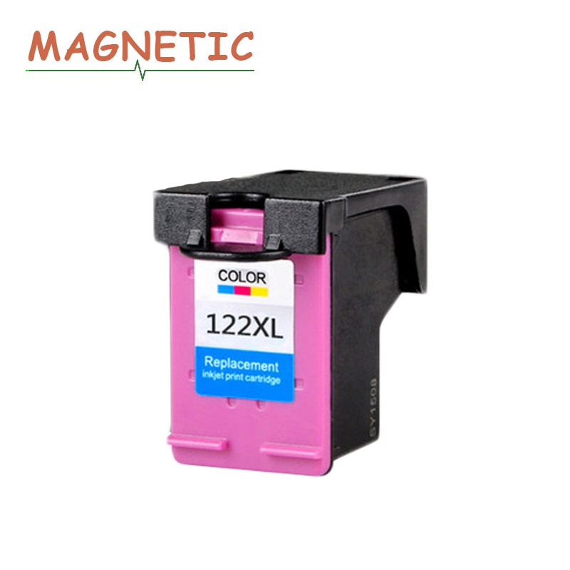 Magnetic Compatible Color Ink Cartridge For <font><b>hp</b></font> <font><b>122</b></font> for HP122 for <font><b>HP</b></font> Deskjet 1000 1050 2000 2050 1510 3050 3000 3050A Printer image