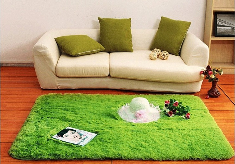 Silk Carpet Wool Rugdoor Large Mat Soft Carpets For Bedroom Rug Childrens Room Kid Yoga MatsCarpets Living