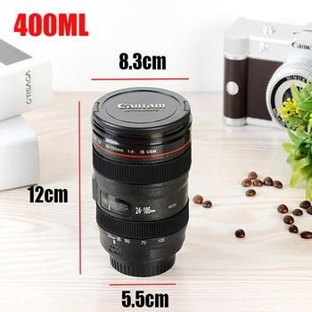 Caniam SLR Camera Lens 24-105mm 1:1 Scale Plastic Coffee Tea MUG 400ML 1