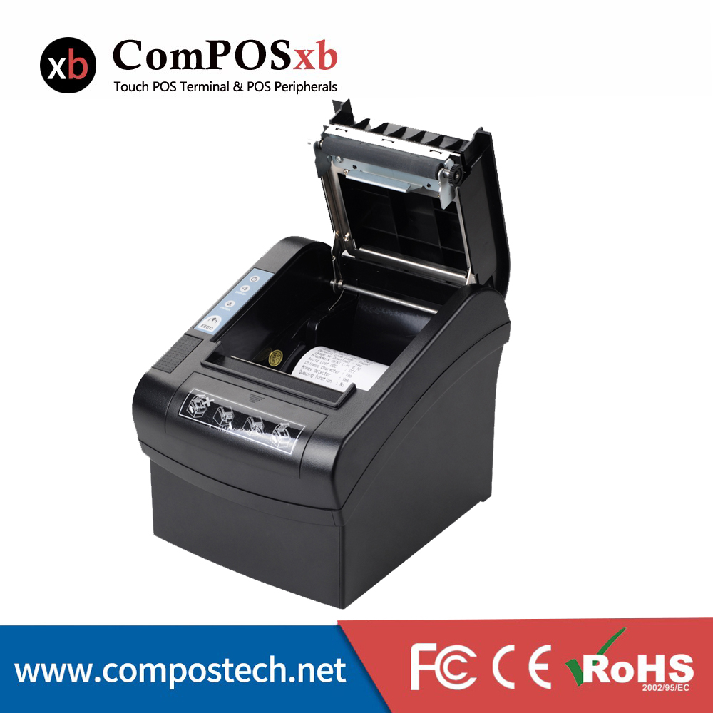 80mm POS System Thermal Ticket Wifi Printer with 260mm/s Printing Speed mtp 3 small portable bluetooth thermal printer 80mm sticker printer ticket printer support andrews apple phone 1pc