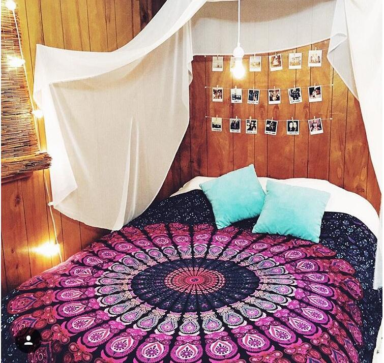210 cm * 150 cm India mandala hanging throwing beach towel yoga mat the Bohemian style of home decoration carpet rug tapestry