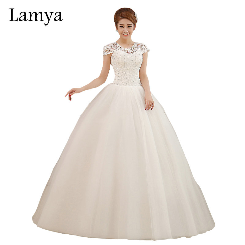 Buy lamya custom size romantic lace for Wedding dress discount warehouse