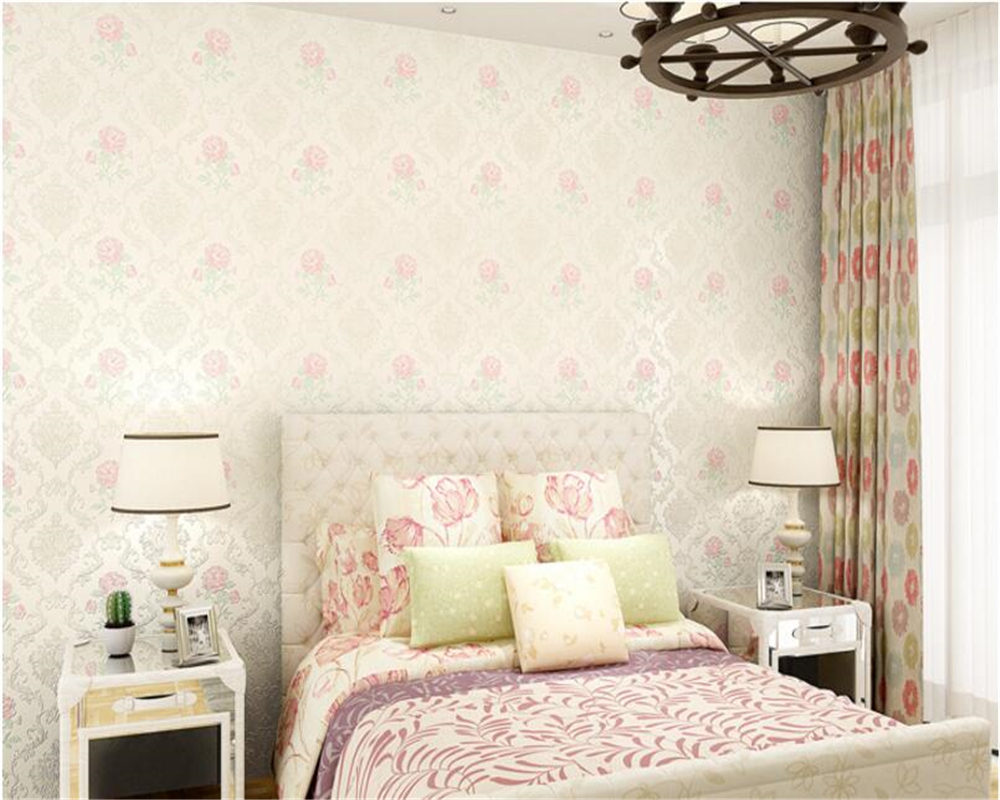 beibehang European style rural style 3D three-dimensional non woven 3d wallpaper wall paper bedroom background papel de parede beibehang luxury europe home decor thicken wallpaper 3d durable non woven wallpapers rural floral wall paper mural papel de