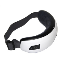 Foldable Electric Eye Massager Heat Compression Wireless Bluetooth Music Eyes Care Mask well WH998