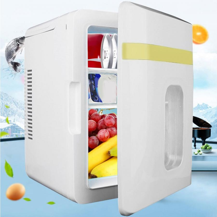 10L Mini Car Single Door Refrigerator Household Car Freezer Electric Cooler Warmer(China)