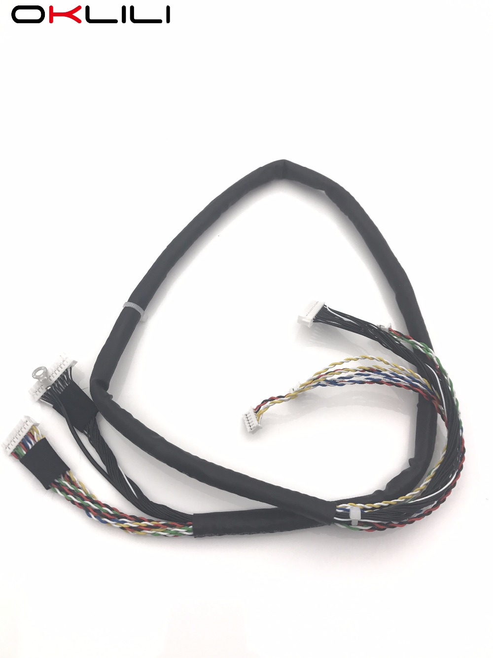 Q7404-50007 ADF Cable Assy Harness for HP LaserJetEnterprise 500 MFP M525 M525dn M525f M525c M575 M575dn M575f M575c M521 M521dn 1 set original x cc483 40002 adf hinge assy for hp clj cm3530 series