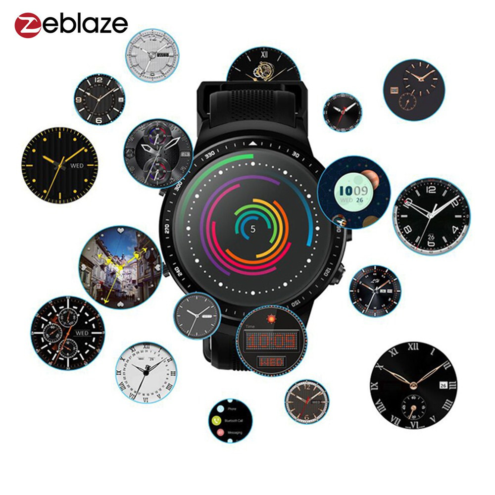 Zeblaze THOR PRO 3G GPS Smartwatch Phone 1.53 Android 5.1 MTK6580 Quad Core 1GB 16GB Touch Screen BT4.0 2MP Camera Smartwatch zeblaze thor smartwatch phone 4 4g lte gps android 7 0 mtk6737 quad core 1gb ram 16gb rom 5 0mp camera 4g 3g 2g watch phone