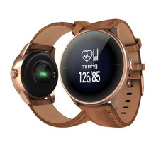 Группа здоровья Bluetooth браслет Поддержка крови Давление монитор фитнес Смарт часы браслет с пульсометром подарок родителям