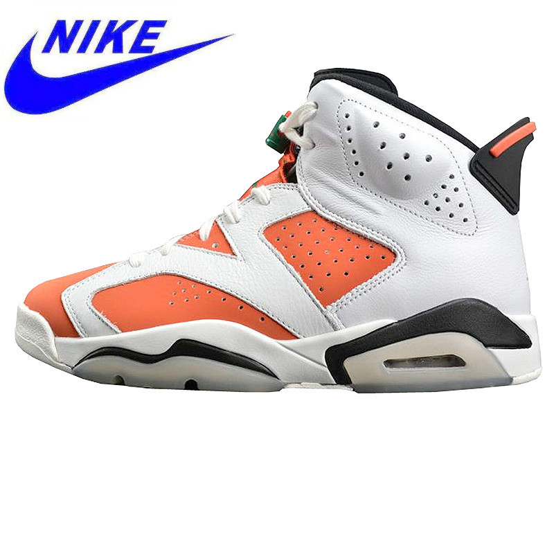 c67f470aeaef Original Nike AIR JORDAN 6 Gatorade Gatorade Men s Air Cushion Basketball  Shoes Sports Shoes