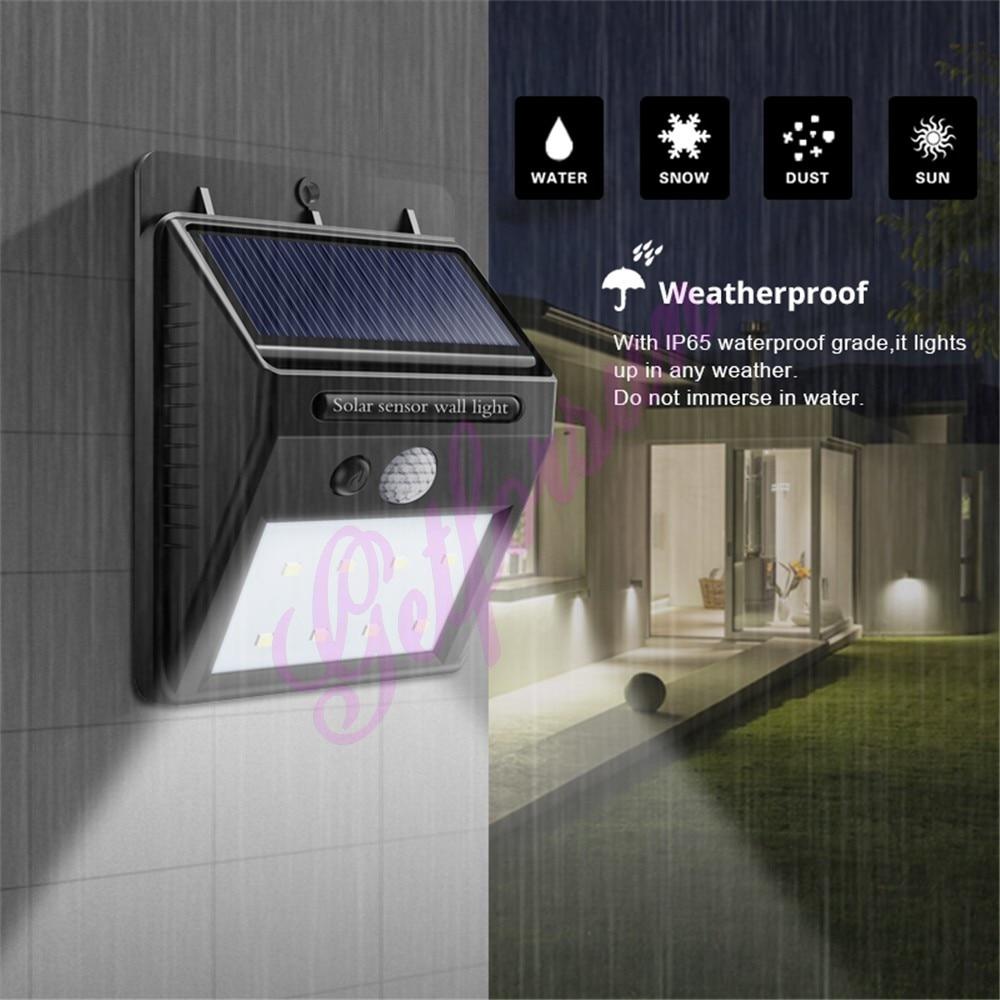 Waterproof 56 30 LED Outdoor Solar Power Lamp Motion Sensor Light Garden Security Lamp Intelligent Light dependent Control Lamps in Solar Lamps from Lights Lighting