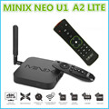 S905 minix neo u1 android tv box amlogic quad core 2g/16g 802.11ac 2.4/5 GHz WiFi XBMC H.265 HEVC 4 K Ultra HD Smart TV caixa