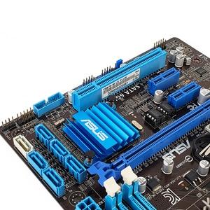 Image 5 - Asus P8B75 M LX PLUS เมนบอร์ดเดสก์ท็อป B75 LGA 1155 สำหรับ i3 i5 i7 DDR3 16G SATA3 USB3.0 DVI Micro   ATX เดิมใช้ Mainboard