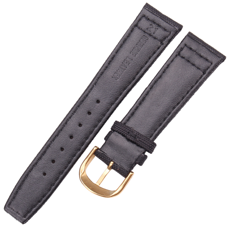 HENGRC Brand Nato Strap Canvas Nylon Watchbands 20mm 21mm 22mm Black Green High Qualiyt Watch Band Bracelet With Pin Buckle in Watchbands from Watches