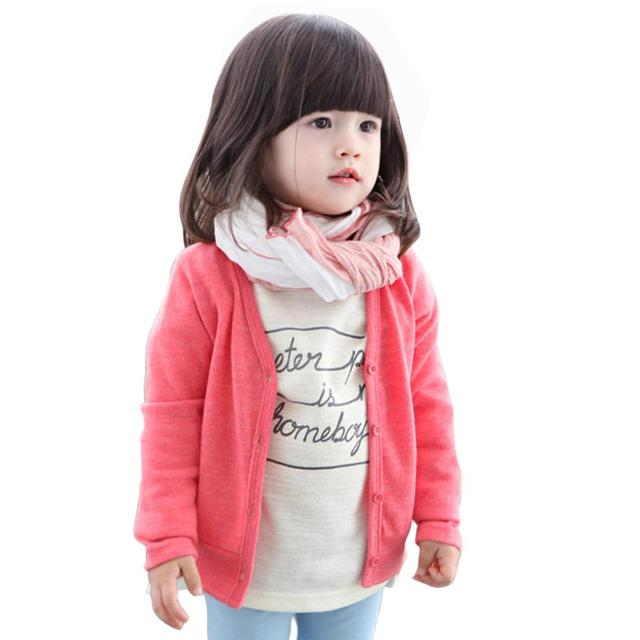 06ff05a6e Autumn Winter 0 3Y Baby Boys Girls Kid Clothing V neck Cardigan ...
