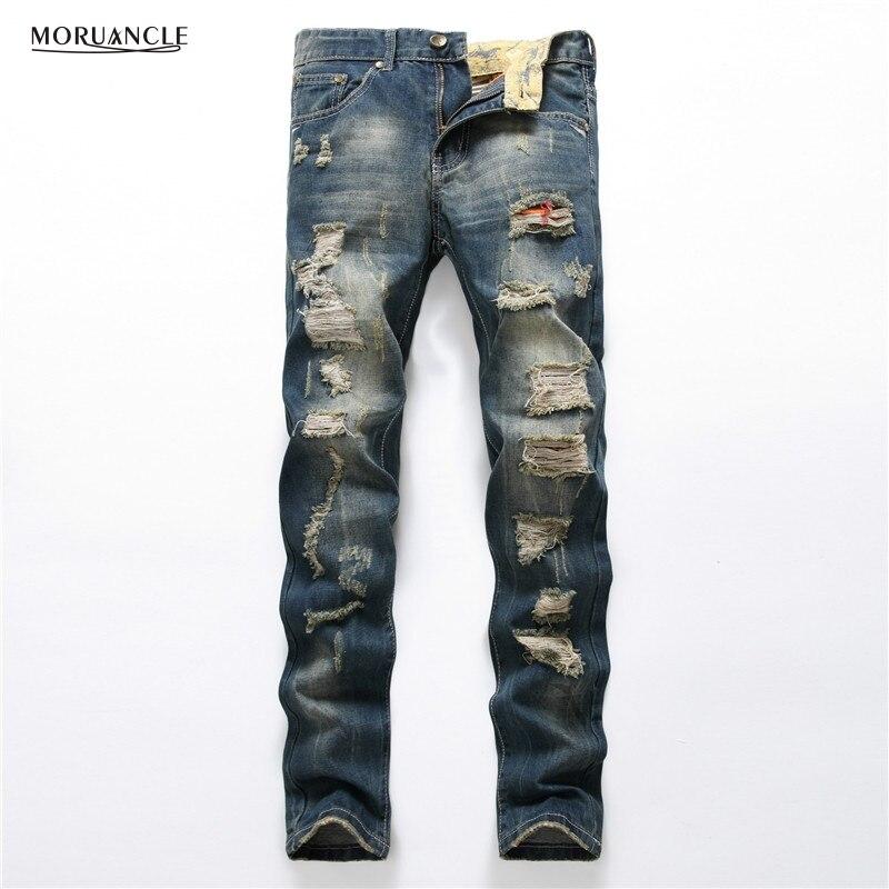 Online Get Cheap Destroyed Designer Jeans -Aliexpress.com ...