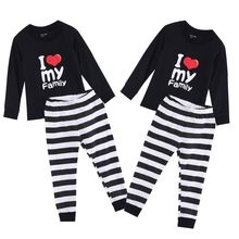 2016 New Children Baby Kids Girls Boys 100% Cotton Pajamas Pyjamas Sleepwear Home Wear Clothing