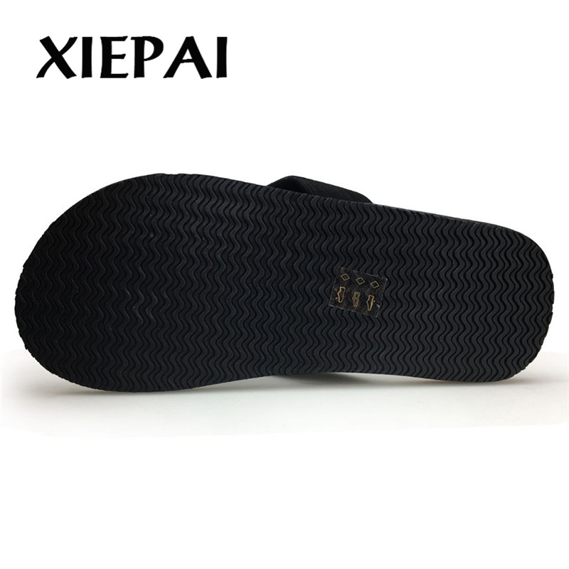 Image 4 - 2019  Beach / House Slippers Men Fashion Flip Flops Size 41 46 Designer Man Casual Summer Shoes-in Flip Flops from Shoes