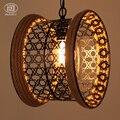 Подвесная лампа в стиле ЮгоВосточной Азии  винтажная Подвесная лампа Эдисона
