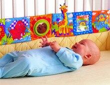 Раннее бамперы младенцев образование прекрасные практические кроватка книги красочный ткань кровать
