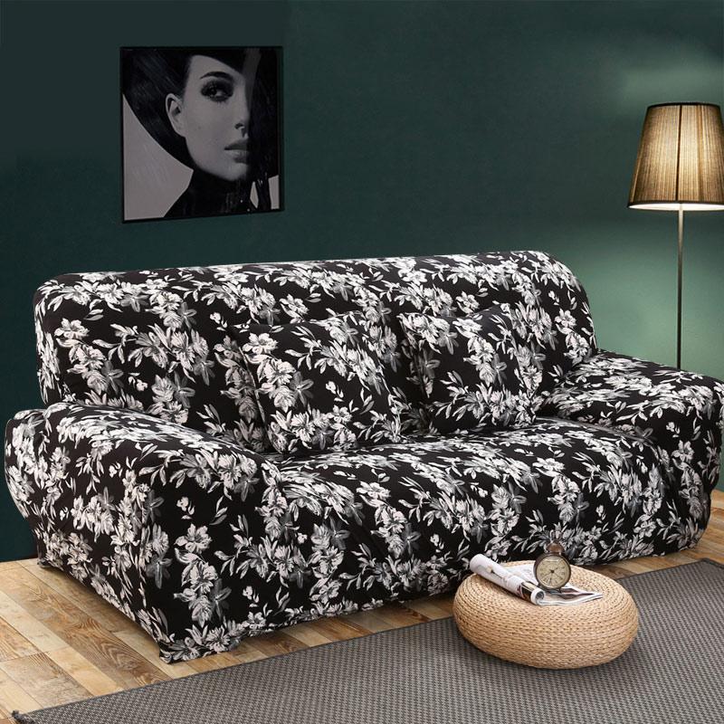 Sofa-hussen Engen Wrap All-inclusive Slip-beständig Elastische Cubre Sofa Handtuch Ecke Sofa Abdeckung Couch Abdeckung 1/2/3/4-seater