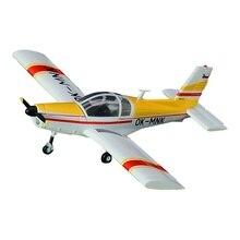 Предварительно построенный 1/72 масштаб Zlin Z 42 Z-142 тренажер самолет Коллекционная хобби готовая пластиковая модель