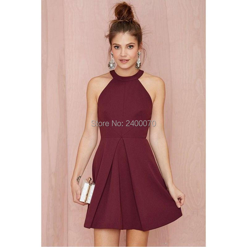 Maroon Homecoming Dresses Promotion-Shop for Promotional Maroon ...
