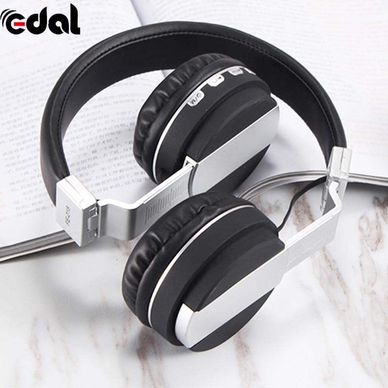 FM Card Folding Headset Bluetooth Stereo Headphones Wireless Headphones Bluetooth 4.2 Headset Over The Ear Headphones foldable on ear wireless stereo bluetooth headphones headset supports fm