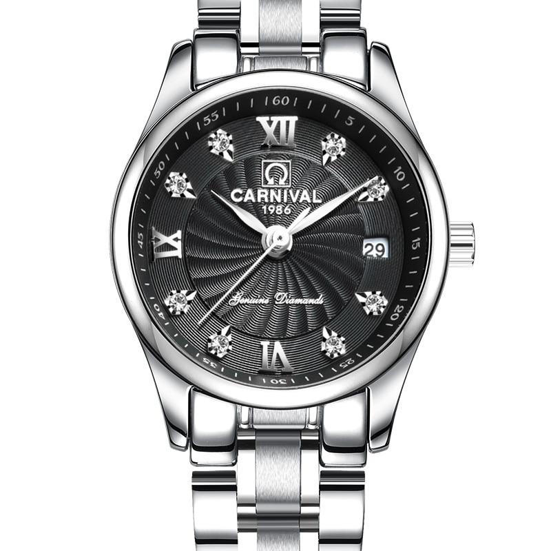 Carnaval luxe merk horloge vrouwen Japan Quartz klok Zwitserland - Herenhorloges