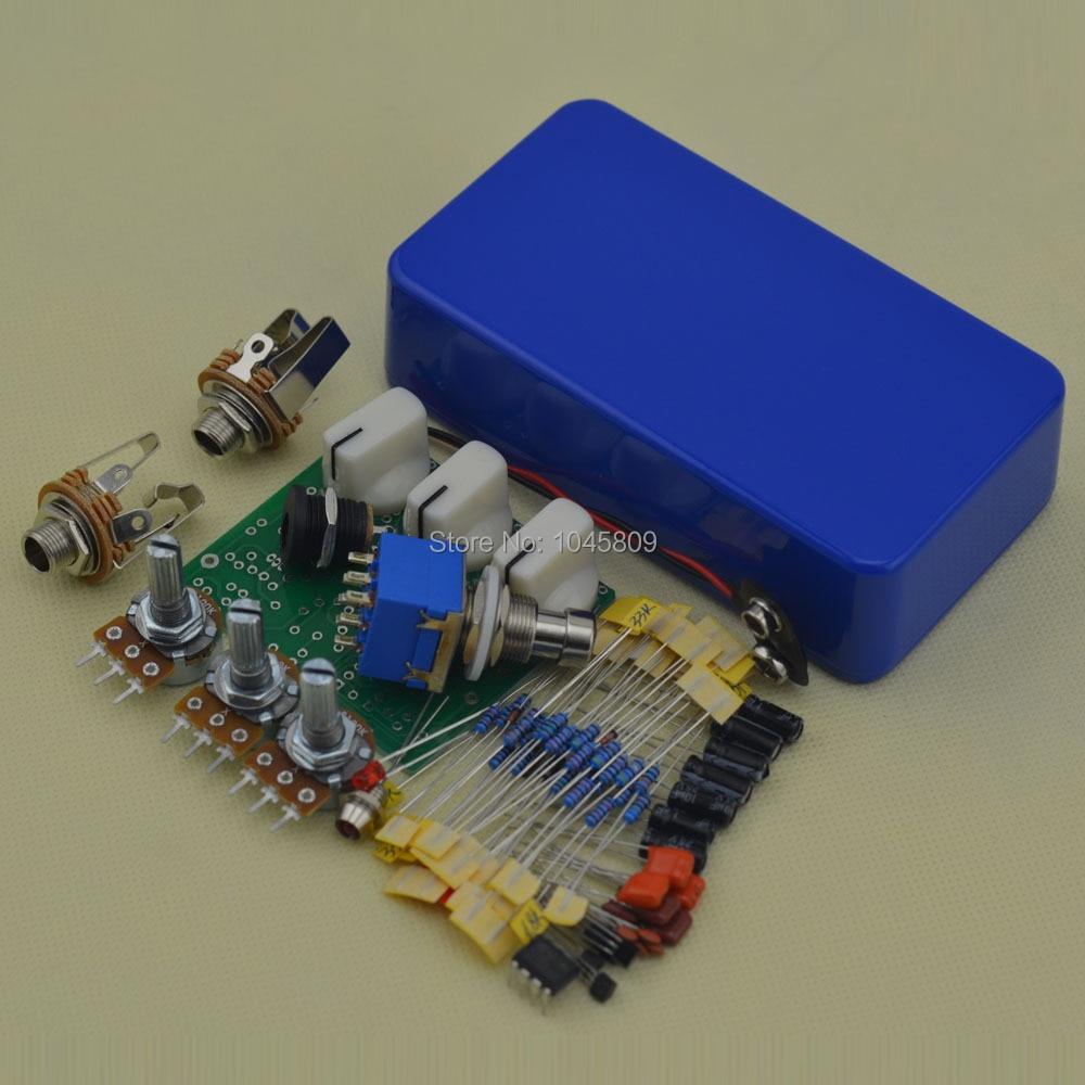 buy diy overdrive pedal guitar effect pedals electric effects blue suite od3. Black Bedroom Furniture Sets. Home Design Ideas