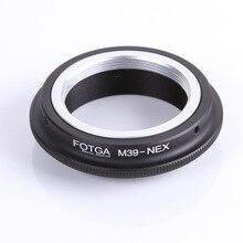 Anillo adaptador FOTGA para lente M39 a NEX 3, anillo adaptador de montura E, oem, venta al por mayor