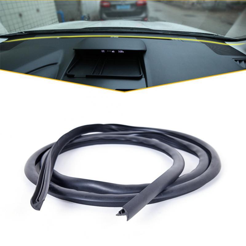 Gummi 1,6 m Schalldichte Staubdichte Dicht Streifen Für Auto Auto Dashboard Windschutzscheibe