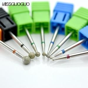 Image 2 - Missguoguo Nail Art Elektrische Nagel Boren Manicure Snijders Boren Voor Manicure Machine Nail Art Boren Accessoires Tips