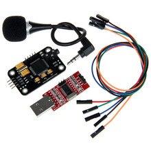 Geeetech Módulo de reconocimiento de voz y micrófono, convertidor USB a RS232 TTL Dupont