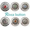 D02065 OEM, odm botão rivca botão de ajuste 18mm charme botão snap pulseira
