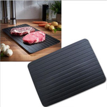 Kitchen Meat Plate BBQ Tool Fast Defrosting Plate Tray Defrost Meat or Frozen Food Plate Quickly Without Electricity Microwave
