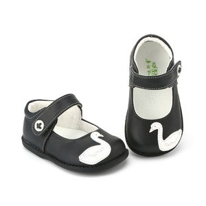 Image 3 - TipsieToes Brand High Quality Genuine Leather Stitching Kids Children Shoes For Boys And Girls 2020 Autumn New Arrival Swan