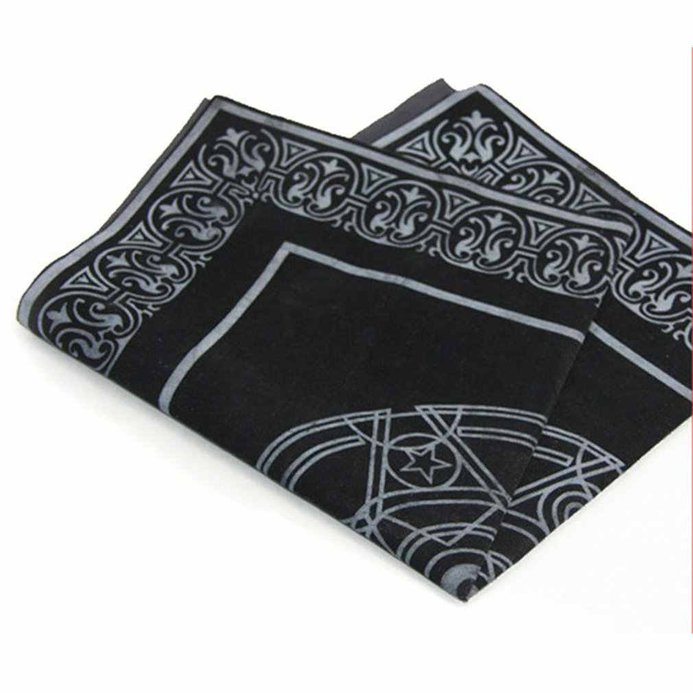 Juego de mesa textil no tejido, cubierta de Tarot PARA cartas de juego, juego de cartas de ACLE culo Tarot, Textiles, mantel de mesa, gran oferta, triangulación de envíos